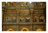 General view of the iconostasis.