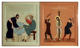 Series The Humility. Icons The Washing of the Feet and The Flagellation of Christ 2012-1013