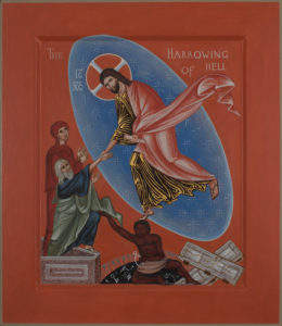 Icon Harrowing of Hell