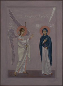 Icon of Annunciation