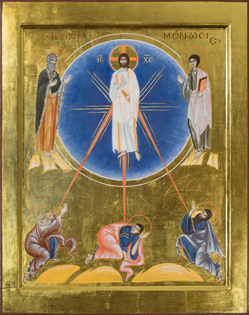 Contemporary Icon Transfiguration of Christ
