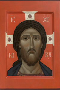 A little Icon of Christ