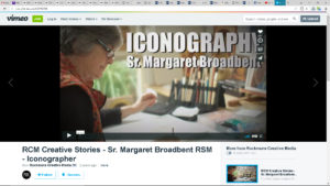 margaretInterview with iconographer Margaret Broadbent