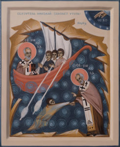 Saint Nicholas, Saving Sailors