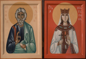 Saint Andrew and Saint Catherine
