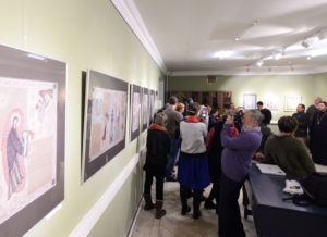 Exhibition of Christian Graphic images by Olga Shalamova