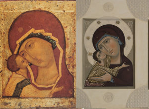 Icon of Our Lady Igorevskaya for Icon Painting Workshop