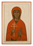 Icon of Saint Anastasia, 2017