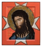 Icon of Sain John the Baptist. 2016