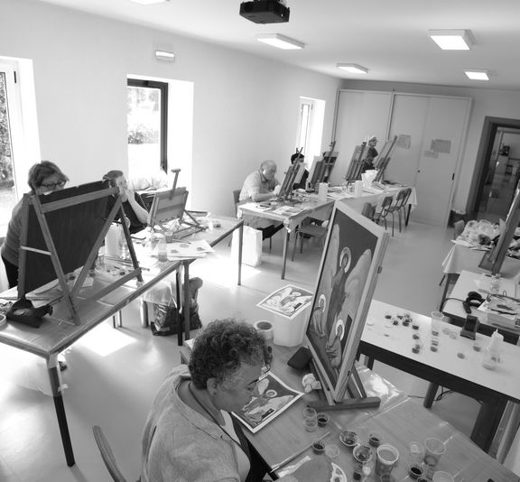Icon-Painting Workshop in the New Skete