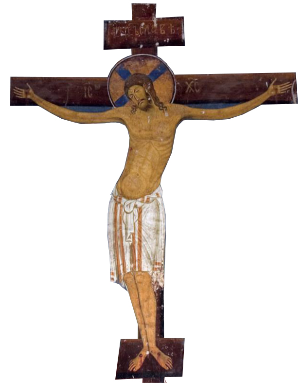 Image of Crucifixion - model for Icon Painting Workshop