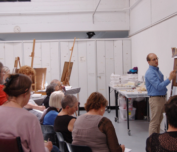 Icon painting workshop