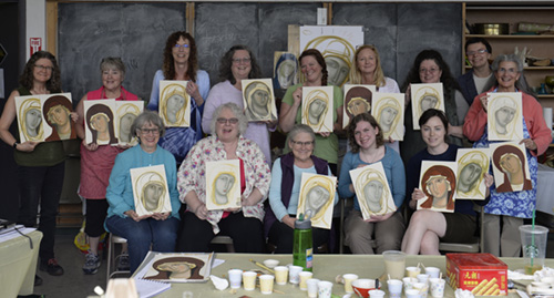 Icon writing workshop