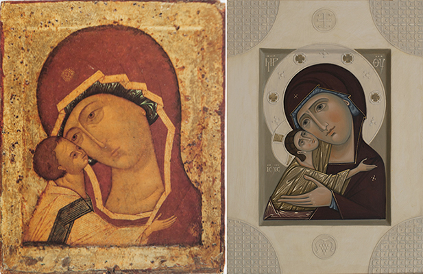 Icon writing workshop: How to work from Models: Byzantine and Romanesque