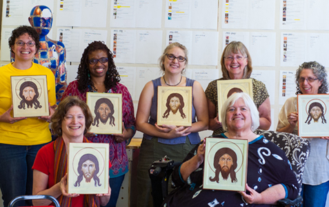 Icon Painting Workshop Wesley Seminary