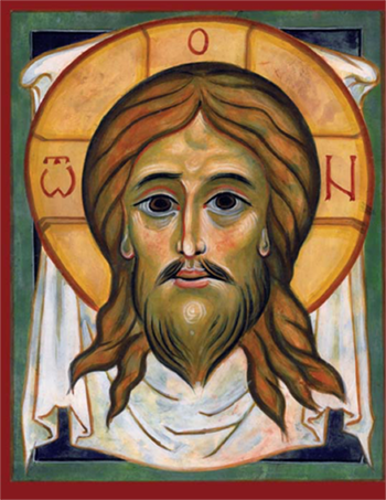 Icon by David Clayton. The Master of Sacred Arts program at Pontifex University