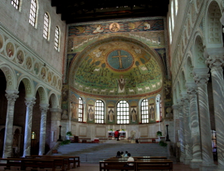 San Apollinare in Classe (interior).