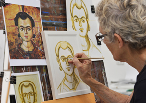 Icon drawing workshop